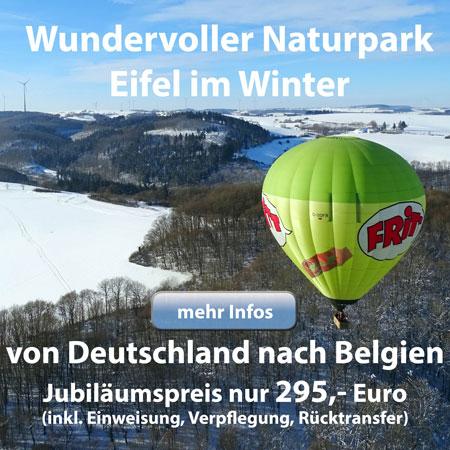 Überquerung des Naturparks Eifel Richtung Belgien