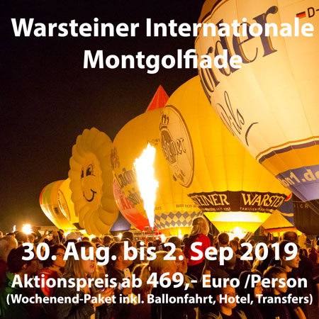 29. WIM Warsteiner Internationale Montgolfiade