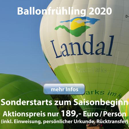 Wundervoller Ballonfrühling 2020