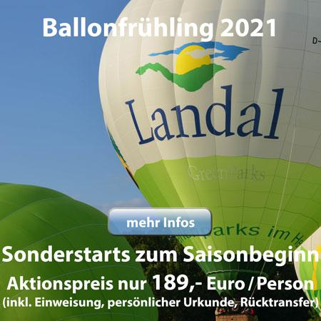 Wundervoller Ballonfrühling 2021