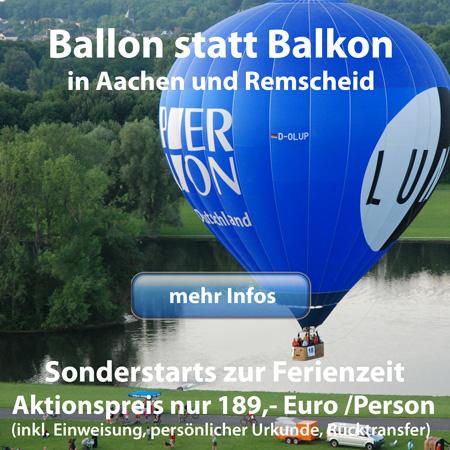 Ferienaktion Ballon statt Balkon
