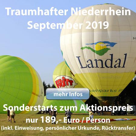 Ballontage am Niederrhein
