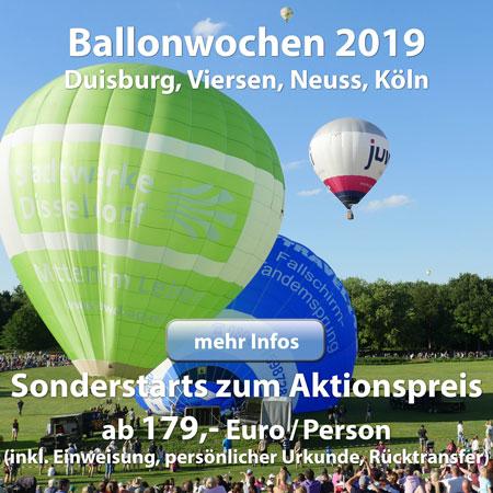 Himmlische Ballonwochen 2019