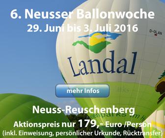 Neusser Ballonwoche 2015