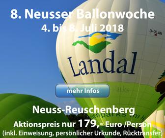 8. Ballonwoche Neuss 2018